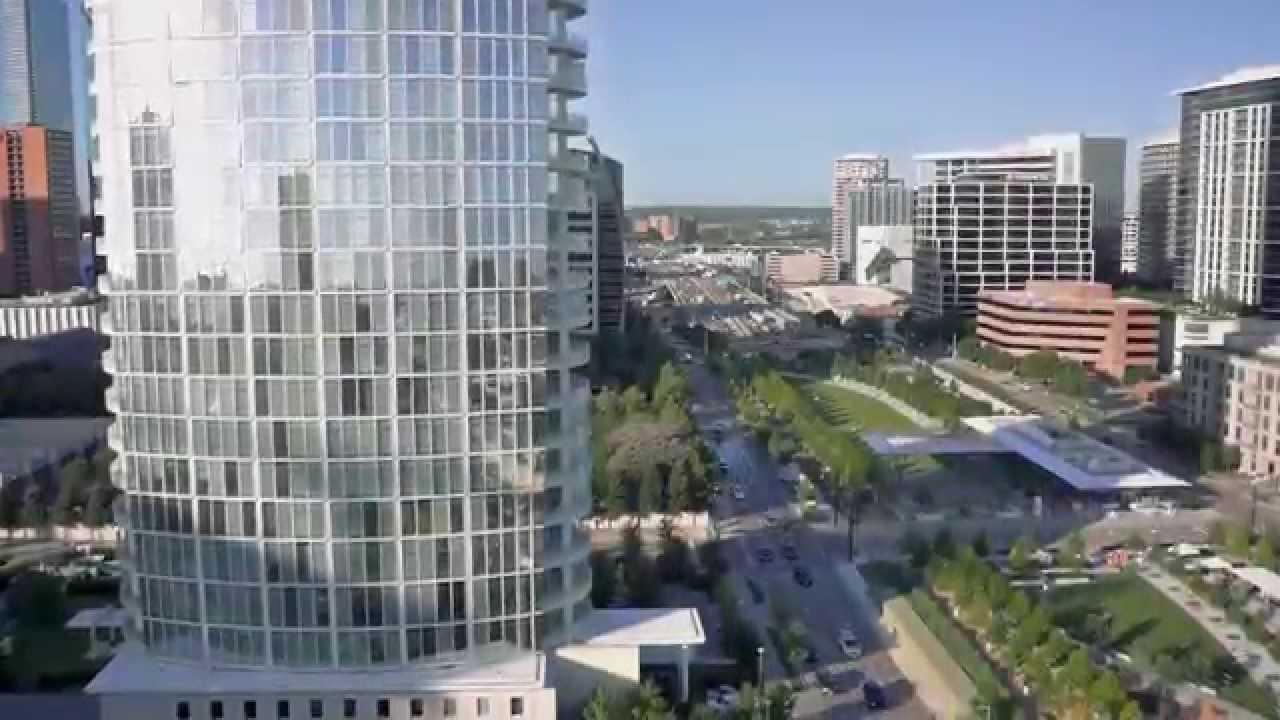 Museum Tower Dallas Aerial Video