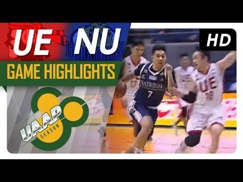 UAAP 80 MEN'S BASKETBALL ROUND 2: UE vs NU Game Highlights - October 14, 2017
