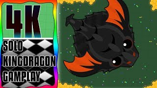   Mope.io   first ever solo KingDragon run (gameplay in 4K quallity)  