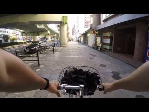 Cycling in Osaka : Cycling in Namba