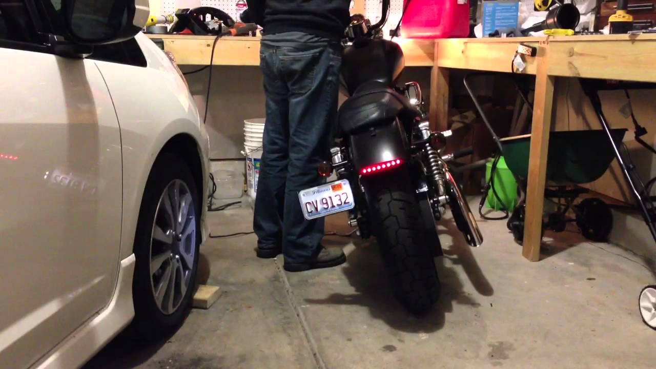 Maxresdefault further D Genuine Hd Bar And Shield Smoked Led Tail Light No Plate Light Ad D A Ca B E F moreover Hqdefault as well E C Ee E D Acb Fabc D C likewise Maxresdefault. on harley davidson tail light not working