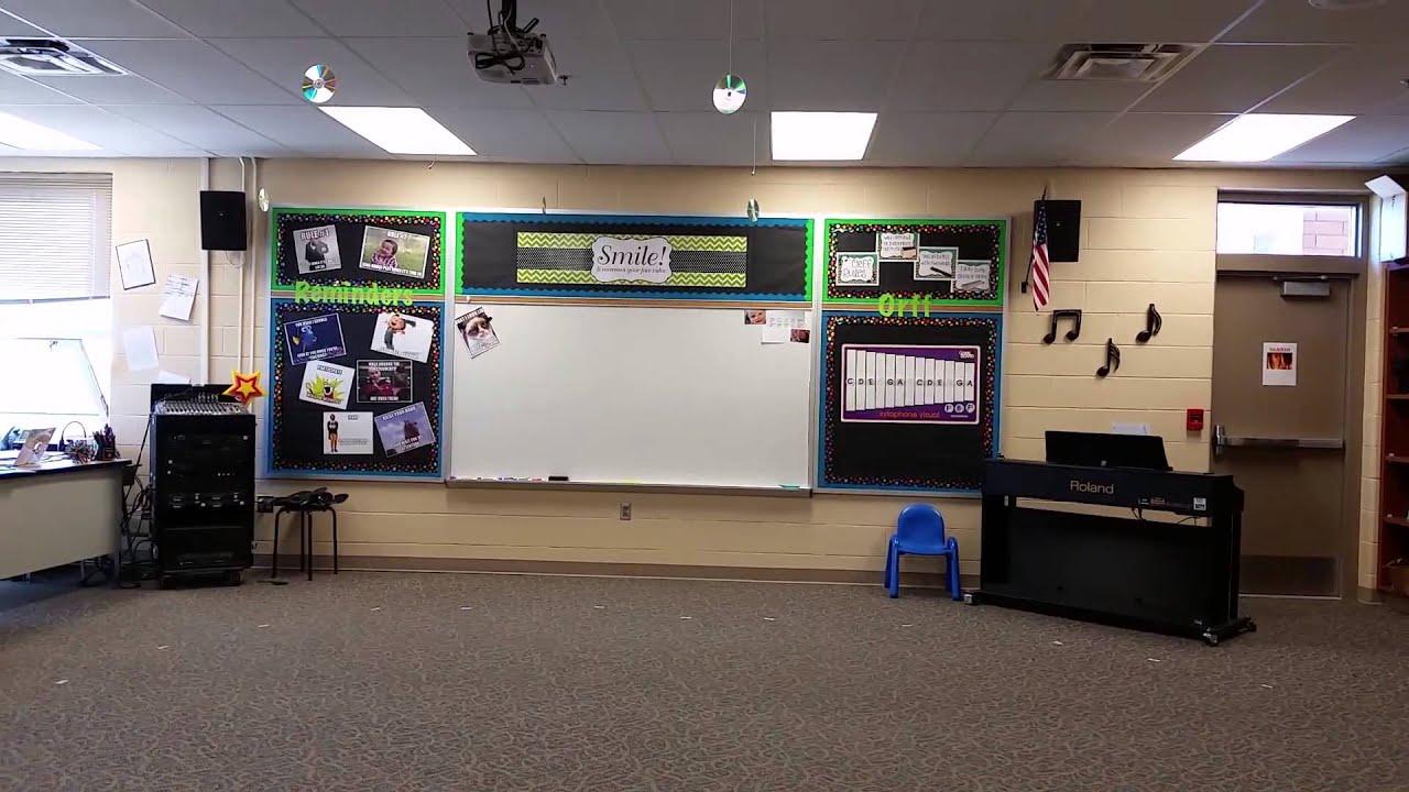 Elementary Classroom Playlist ~ Warren hills elementary music classroom tour youtube