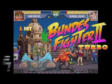 BundesFighter 2 Turbo • Bundestagswahl 2017 Spezial • WahlKAMPF • Gameplay deutsch