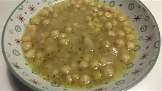 Ρεβύθια σούπα με λεμόνι (εύκολη και νόστιμη συνταγή)