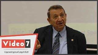 بالفيديو.. مصطفى السيد: قلت لجابر نصار ابنى مبنى لبراءات الاختراع
