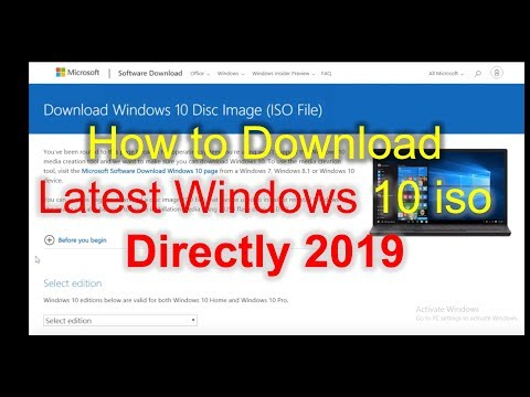 Windows 10 ISO 32 & 64 Bit Full Download {Legally + Officially}