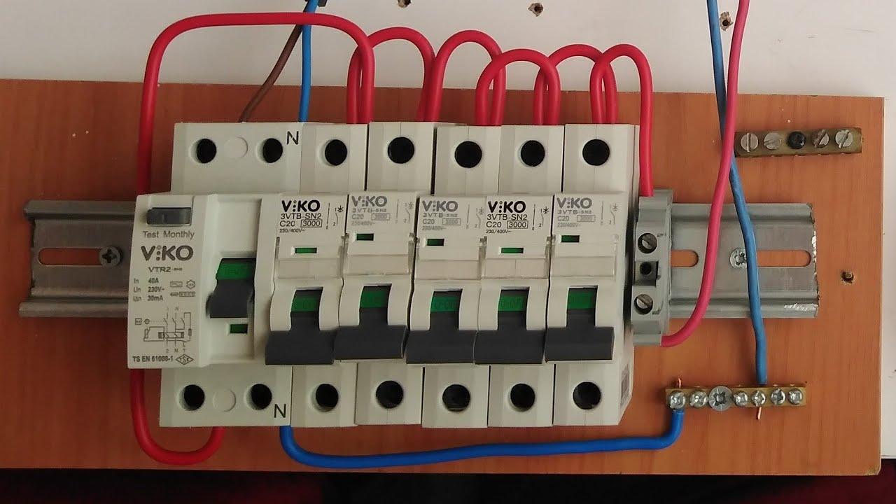 Sigorta Kutusundan Elektrik Çekme,Hat çekme nasıl yapılır,Elektrik tesisatı buat ve devre bağlantısı