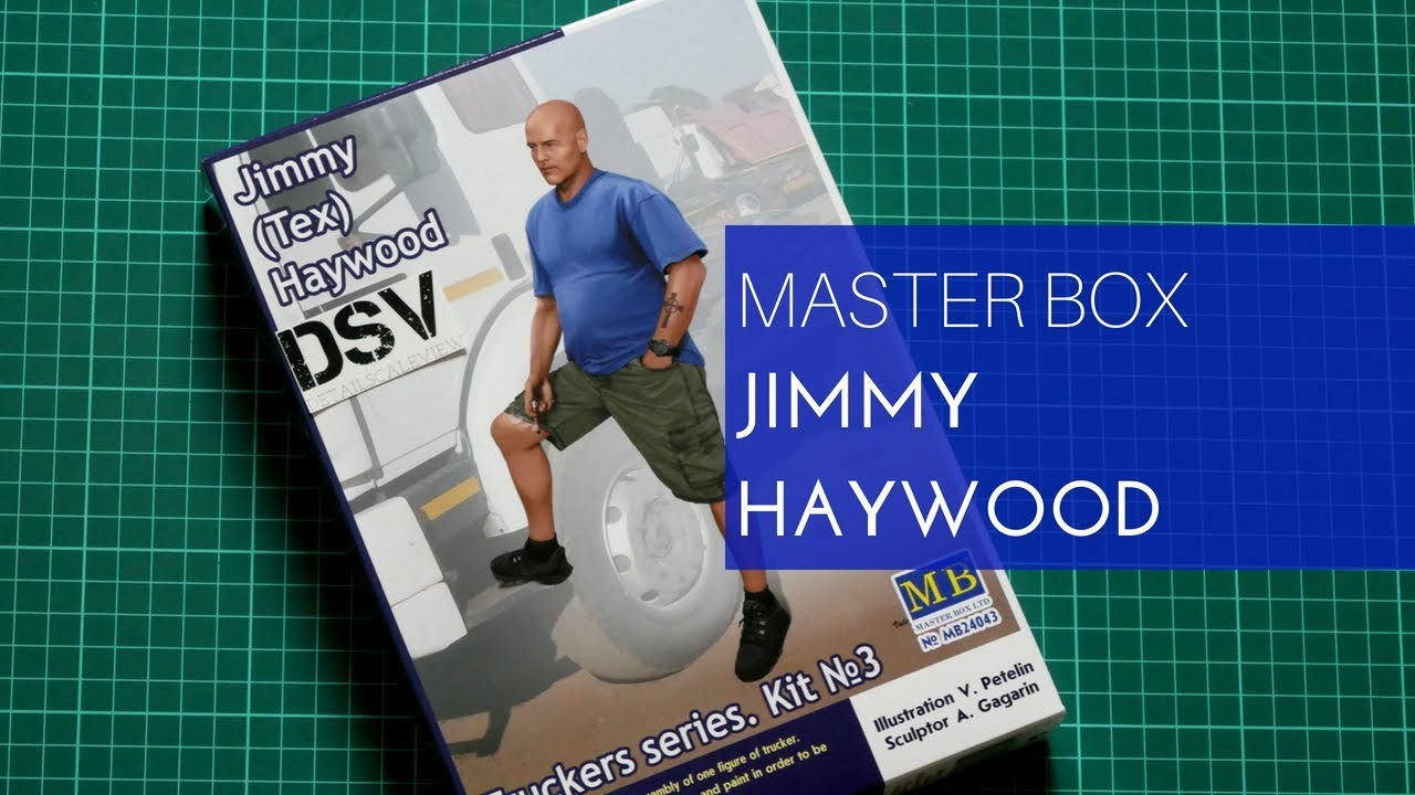 """Haywood/"""" Truckers series Scale 1//24 Tex Master Box 24043 /""""Jimmy"""