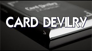Book Review: Card Devilry by J.K. Hartman