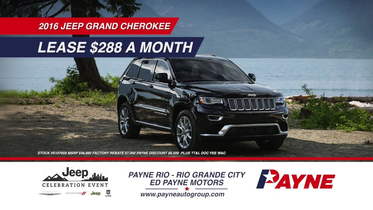 Can you buy a Jeep at Ed Payne Motors in Weslaco?