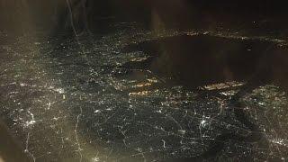 Air France 777-300er Night Take Off at Tokyo Haneda