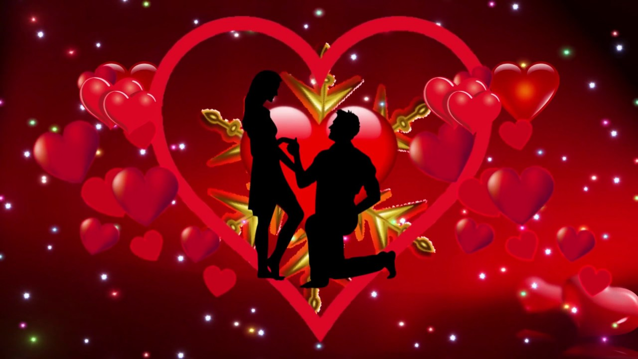 Free Love motion Background Video HD,Love background video HD, love background video - YouTube