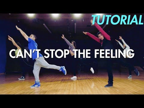 Justin Timberlake - Can't Stop the Feeling (Dance Tutorial) | Mihran Kirakosian Choreography