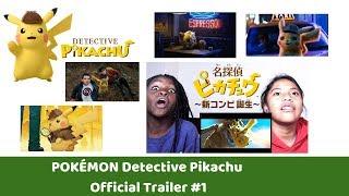 POKÉMON Detective Pikachu - Official Trailer #1 - REACTION