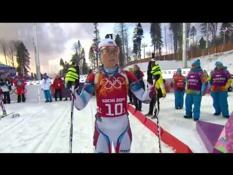 Winter Olympics 2014 women relay Biathlon