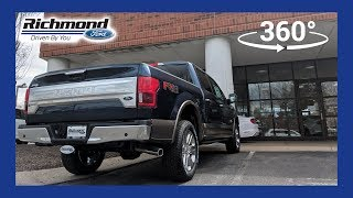 2018 Ford F-150 King Ranch 360 Degree Virtual Test Dive