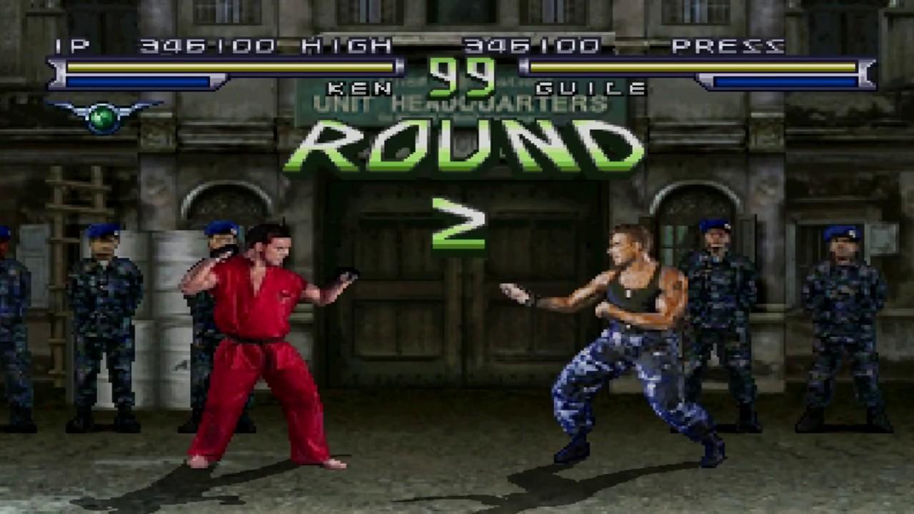 Street Fighter The Movie Gameplay Street Battle Playstation Psx