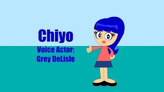 Voices For Custom Hi Hi Puffy AmiYumi Characters Made By Me