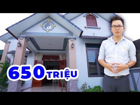 Mẫu nhà cấp 4 mái thái đẹp giá 650 triệu đồng ở Hòa Thanh Hóa