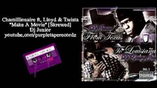 Chamillionaire ft. Lloyd & Twista - Make A Movie - Screwed & Chopped by Dj Junior