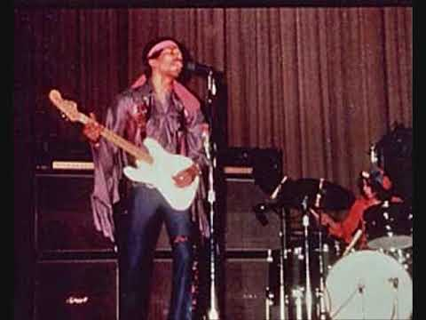 Jimi Hendrix- North Hall, Ellis Auditorium, Amphitheatre, Memphis,  Tennessee 4/18/69 - YouTube