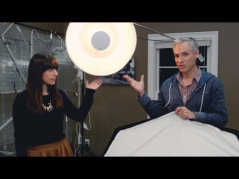 Beauty Dish vs Softbox: A Studio Lighting Tutorial