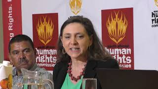 This report talks about the rights of citizens rather than the powers of the state – Professor Ruth