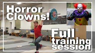 Video Reißen - Stoßen - Horror Clowns // Full training session download MP3, 3GP, MP4, WEBM, AVI, FLV September 2017