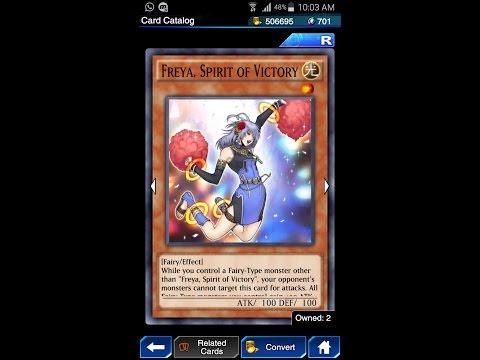 Yugioh Duel Links - Freya, Spirit of Victory