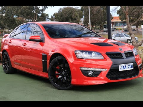 B6977 - 2012 Holden Special Vehicles Clubsport R8 Manual Walkaround Video