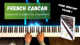 French Cancan - J'apprends le piano tout simplement - Volume 1