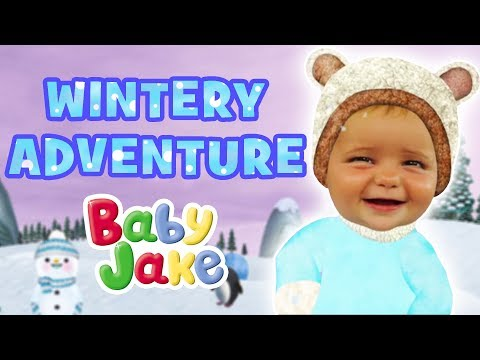Baby Jake - Wintery Adventure | 60+ Minutes!