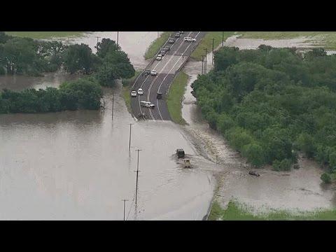 Flash Flood Texas 10 05 2015