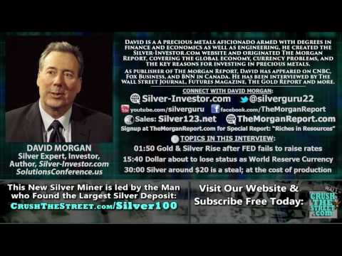 Could the Chinese Yuan in the IMF SDR spike Gold & Silver High this Fall? - David Morgan Interview