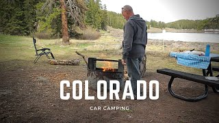 A Day in tнe Life Car Camping - Free Car Camping in Colorado