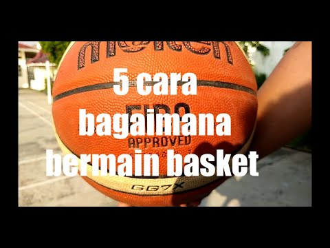 Teknik Dasar Permainan Bola Basket HQ - Laura Julia FIK UNY -.
