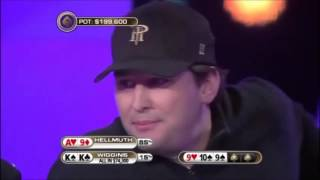 Bad luck Phil Hellmuth