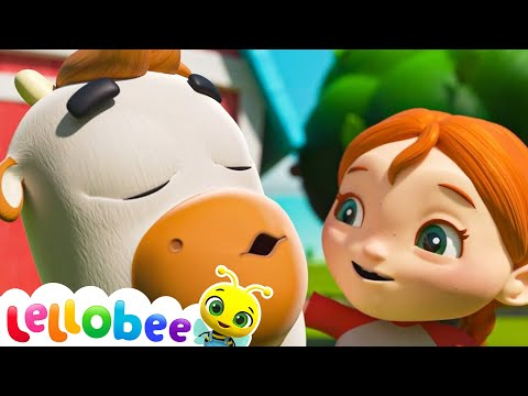 Old Macdonald Song | Brand New Nursery Rhyme & Kids Song -ABCs and 123s  | Little Baby Bum