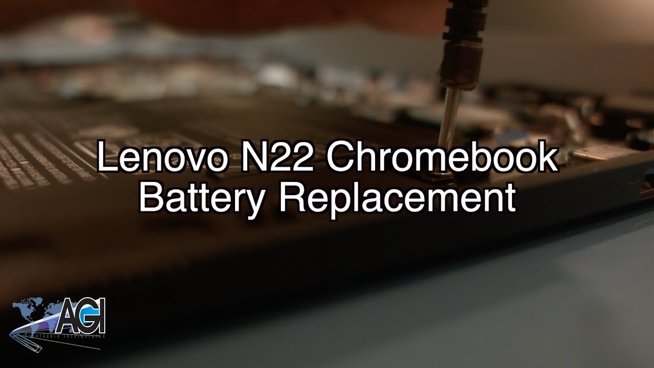 Lenovo N22 Chromebook Battery Replacement