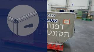 Container inspection in 60 seconds - Hebrew