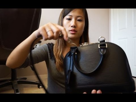 c8420aae897c Louis Vuitton Epi Alma BB (Review   What Fits!) - YouTube