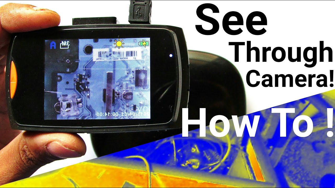 Diy Infrared Camera And Thermal For Night Vision See Through