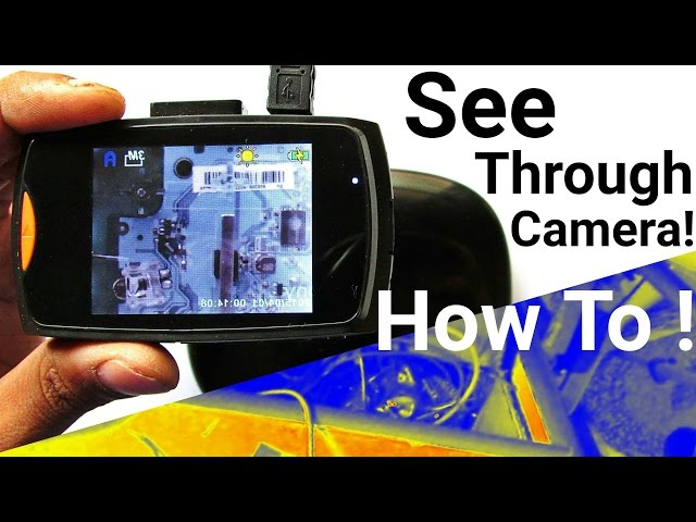 Make Basic Infrared Thermal Imaging Camera For Convert Any Into 6 Steps With Pictures