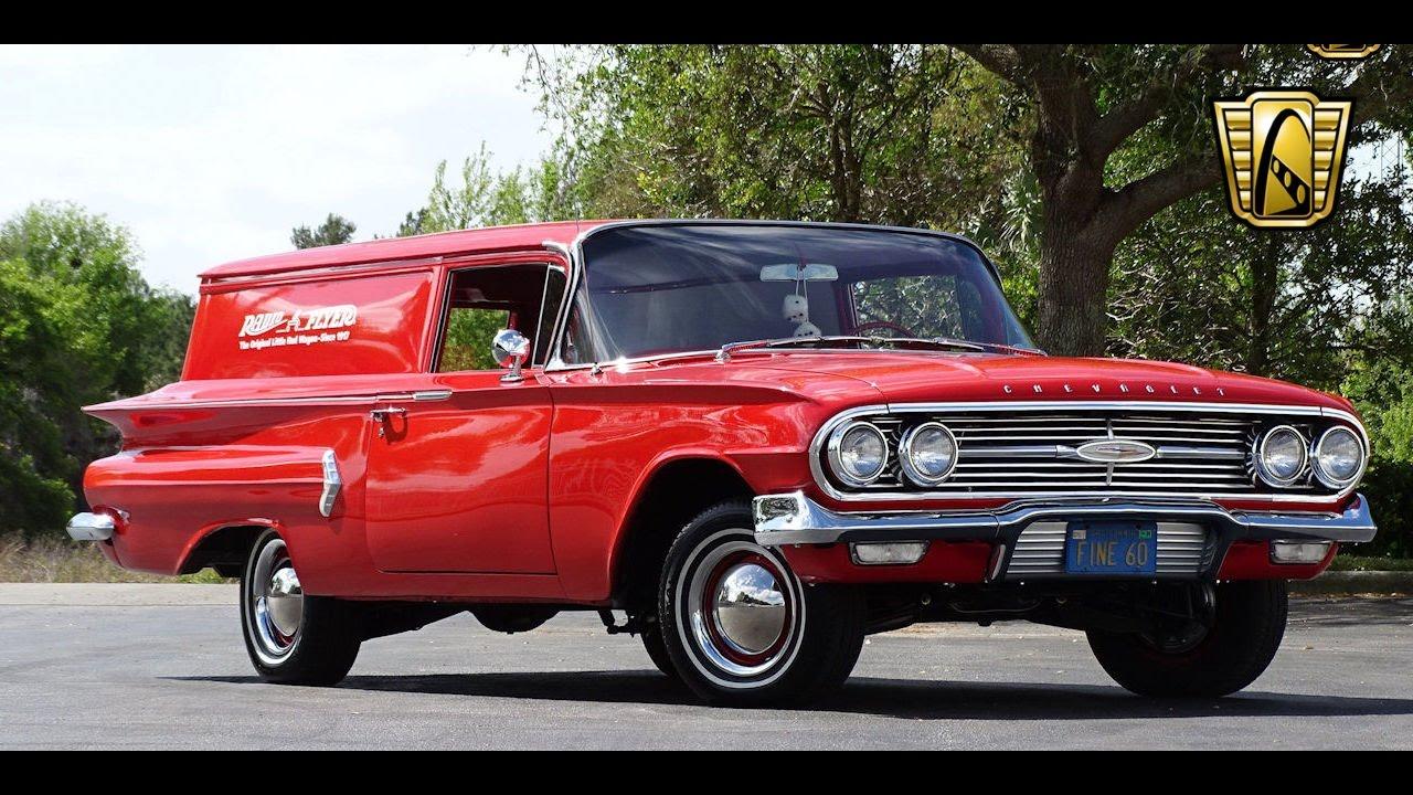All Chevy 1960 chevrolet biscayne 2 door : 1960 Chevrolet Biscayne Delivery Gateway Orlando #769 - YouTube