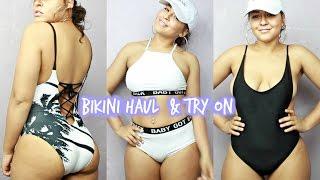 One of Essence Nicole's most viewed videos: Bikini Try On Haul   Summer 2017