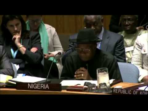 President Jonathan's Speech At The 2014 UN Security Council