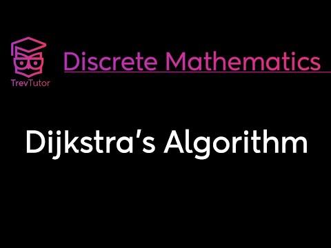 [Discrete Math 2] Dijkstra's Algorithm