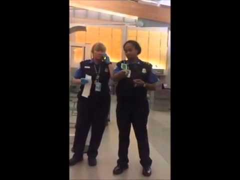 TSA Molest Female Child at Checkpoint