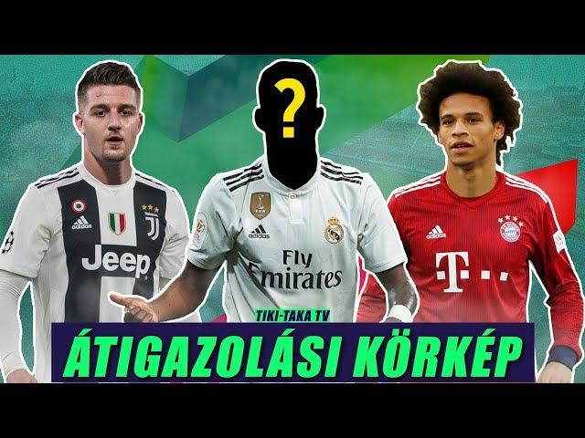 Sané közel a Bayernhez! A Real megtalálta Marcelo utódját? Savic a Juvéban? | Átigazolási körkép