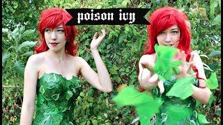 No Sew! DIY Poison Ivy Costume / Cosplay Tutorial   Natasha Rose